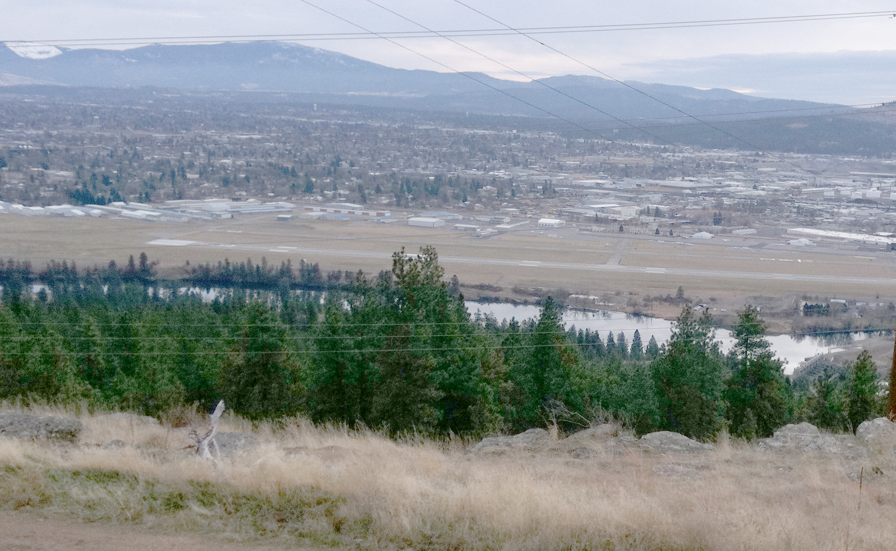 Beacon Hill - Overlooking the Spokane Valley