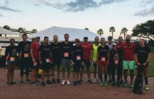 Our Clever Training group before the race.